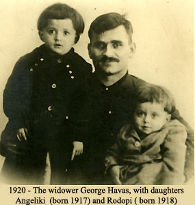 [1920 George Havas with Angeliki and Rodopi]