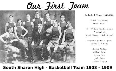 [Basketball Team 1908-1909]