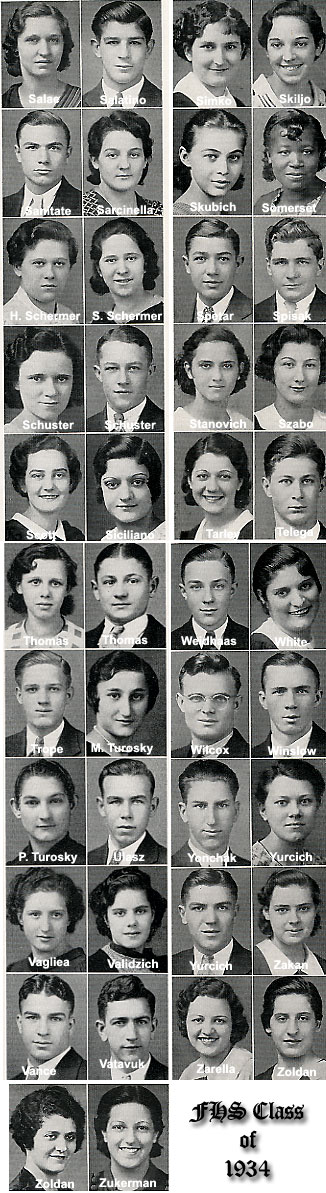 [Class of 1934 - Salae to Zukerman]
